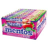 Mentos Strawberry Mix 40 Rollen