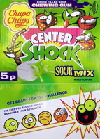 Chupa Chups Center Shock Sour