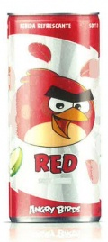 Angry Bird RED Tropical Soft Drink 25cl, 24 Stück