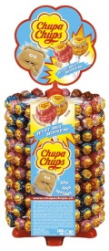Chupa The Best of Whell Display 200Stück Schleckstengel Lollipop